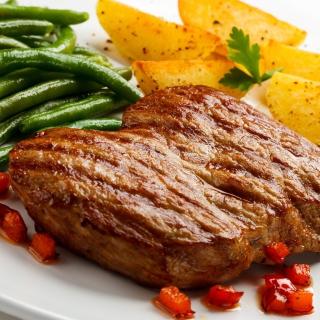 Steak and potatoes - Obrázkek zdarma pro iPad mini 2