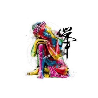 Colorful Buddha - Obrázkek zdarma pro 320x320