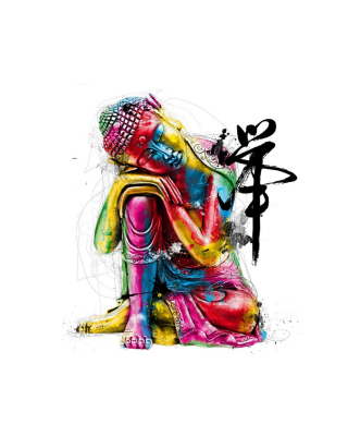Colorful Buddha - Obrázkek zdarma pro Nokia X2-02