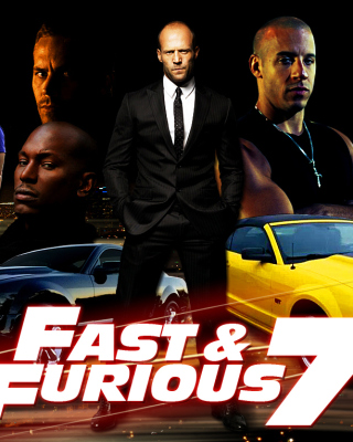Fast and Furious 7 Movie - Obrázkek zdarma pro iPhone 5