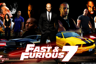 Fast and Furious 7 Movie - Obrázkek zdarma pro Widescreen Desktop PC 1680x1050
