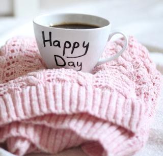 Happy Day Coffee - Obrázkek zdarma pro iPad