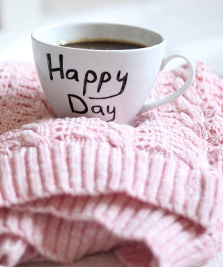 Happy Day Coffee - Obrázkek zdarma pro Nokia Lumia 820