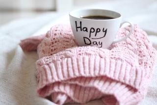 Happy Day Coffee - Obrázkek zdarma pro Samsung Galaxy S II 4G