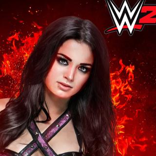 WWE 2K15 Paige - Obrázkek zdarma pro iPad mini