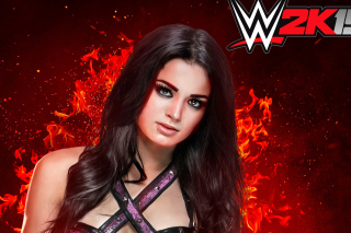 WWE 2K15 Paige Picture for Android, iPhone and iPad