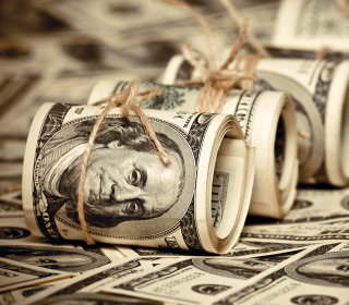 US Dollars - Obrázkek zdarma pro 208x208