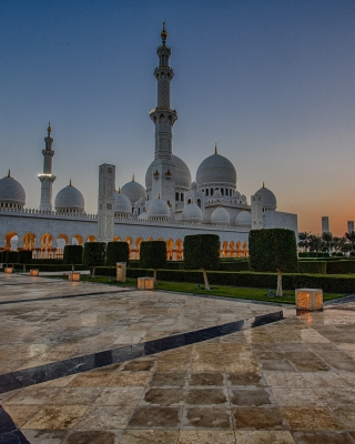 Sheikh Zayed Grand Mosque in Abu Dhabi - Obrázkek zdarma pro Nokia C1-01
