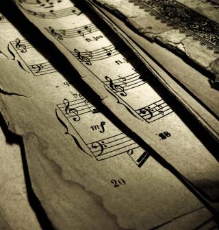 Old Music Sheets - Obrázkek zdarma pro 320x320