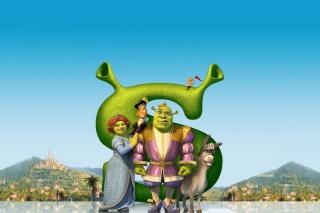 Shrek - Obrázkek zdarma pro 1366x768