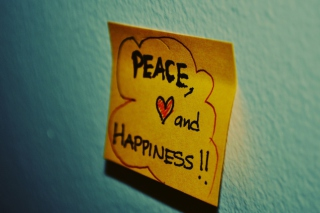 Peace Love And Happiness Wallpaper for Android, iPhone and iPad
