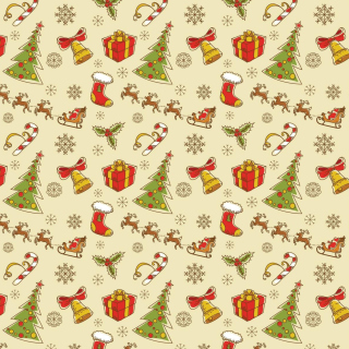 Christmas Gift Boxes Decorations - Obrázkek zdarma pro 320x320