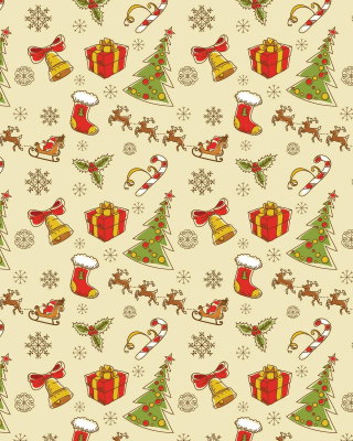 Christmas Gift Boxes Decorations - Obrázkek zdarma pro 750x1334