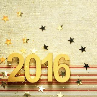 2016 New year Congratulations - Obrázkek zdarma pro iPad mini 2