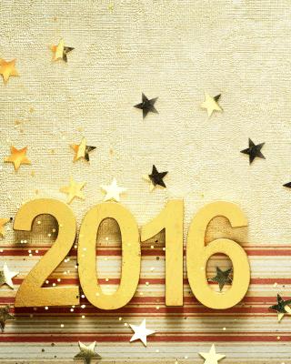2016 New year Congratulations - Obrázkek zdarma pro 750x1334