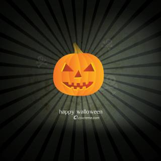 Halloween Pumpkin - Obrázkek zdarma pro iPad 2