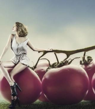 Tomato Girl - Obrázkek zdarma pro Nokia Asha 502