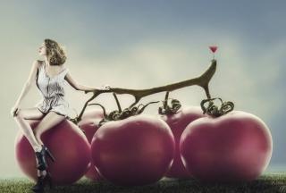 Tomato Girl - Obrázkek zdarma pro 1280x800