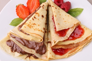 Free Russian Pancakes Picture for Android, iPhone and iPad