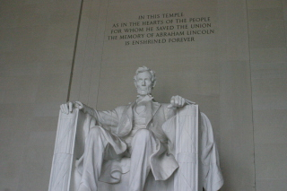 Lincoln Memorial Monument Picture for Android, iPhone and iPad