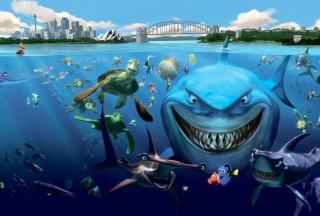 Finding Nemo - Obrázkek zdarma pro Nokia X5-01