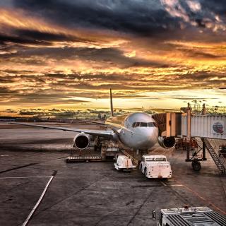 Schiphol Airport - Obrázkek zdarma pro iPad 2