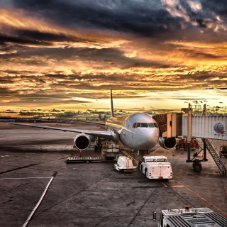 Schiphol Airport - Obrázkek zdarma pro 320x320