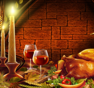 Thanksgiving Dinner - Obrázkek zdarma pro 128x128