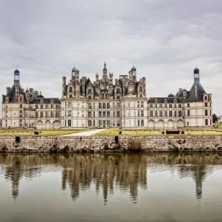 Chateau de Chambord French Renaissance Castle - Obrázkek zdarma pro iPad 3