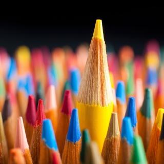 Colorful Pencils - Obrázkek zdarma pro iPad