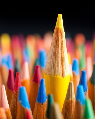 Colorful Pencils - Obrázkek zdarma pro Nokia X3