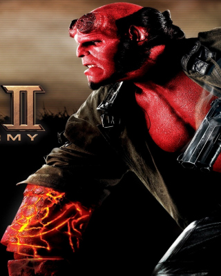 Hellboy II The Golden Army Wallpaper for Nokia N8