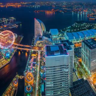 Yokohama City in Tokyo - Obrázkek zdarma pro iPad 3