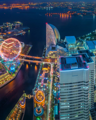 Yokohama City in Tokyo - Obrázkek zdarma pro 240x400