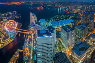 Yokohama City in Tokyo Wallpaper for Android, iPhone and iPad