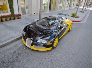 Bugatti Veyron - Obrázkek zdarma pro HTC EVO 4G