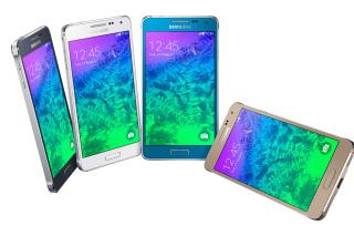 Samsung Galaxy Alpha - Obrázkek zdarma pro Nokia Asha 205