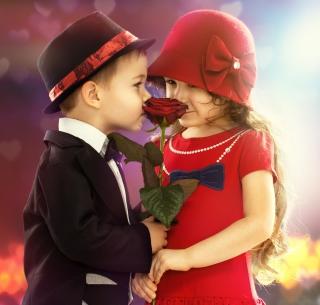 Cute Couple - Obrázkek zdarma pro iPad mini 2