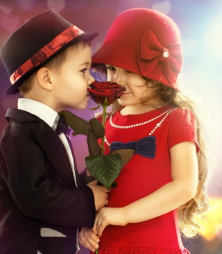 Cute Couple - Obrázkek zdarma pro Nokia 5800 XpressMusic