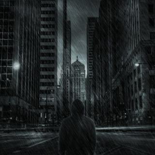 Dark City HD - Obrázkek zdarma pro 320x320