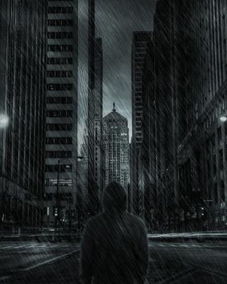 Dark City HD - Obrázkek zdarma pro Nokia C-5 5MP