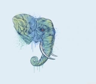 Elephan Head - Obrázkek zdarma pro 2048x2048