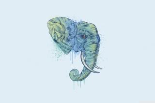 Elephan Head - Obrázkek zdarma pro Samsung Galaxy Nexus