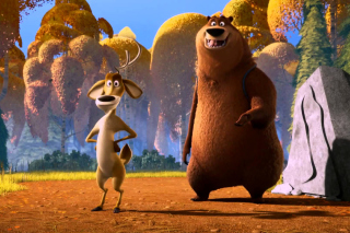 Open Season 3 Scared Silly - Obrázkek zdarma pro Widescreen Desktop PC 1920x1080 Full HD