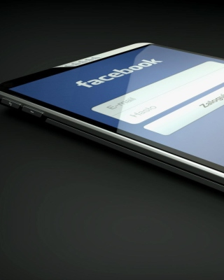 Facebook Phone - Obrázkek zdarma pro 352x416