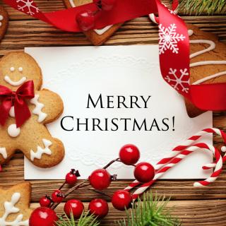 Merry Christmas HD - Obrázkek zdarma pro 320x320