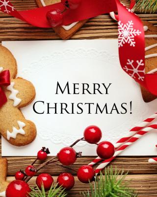 Merry Christmas HD - Obrázkek zdarma pro Nokia C1-00