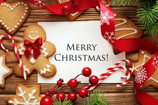 Merry Christmas HD - Obrázkek zdarma pro Desktop Netbook 1366x768 HD