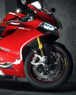 Ducati 1199 - Obrázkek zdarma pro 480x800