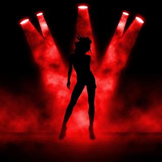 Red Lights Dance - Obrázkek zdarma pro iPad
